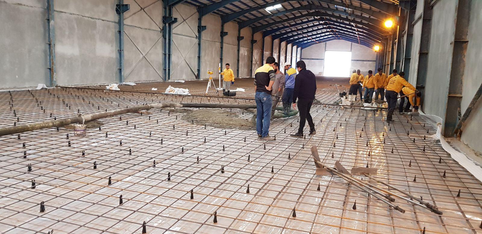 مراحل ساخت کارخانه